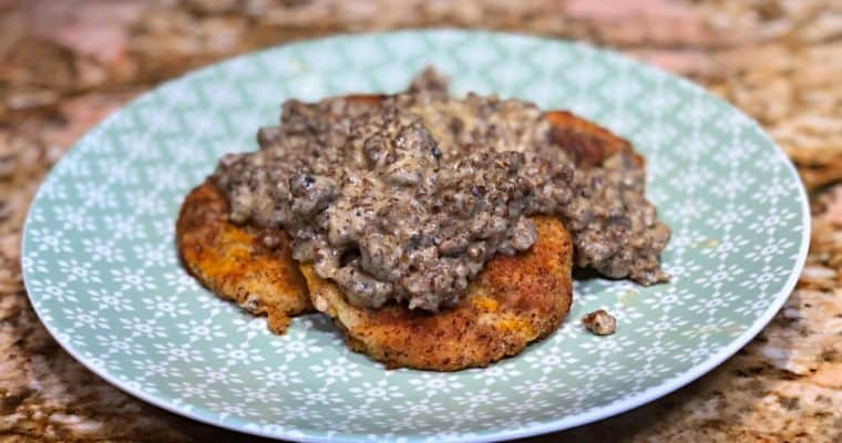 Keto Biscuits And Gravy Recipe