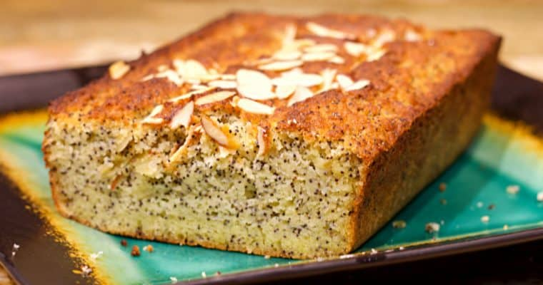 Keto Almond Poppyseed Bread Recipe