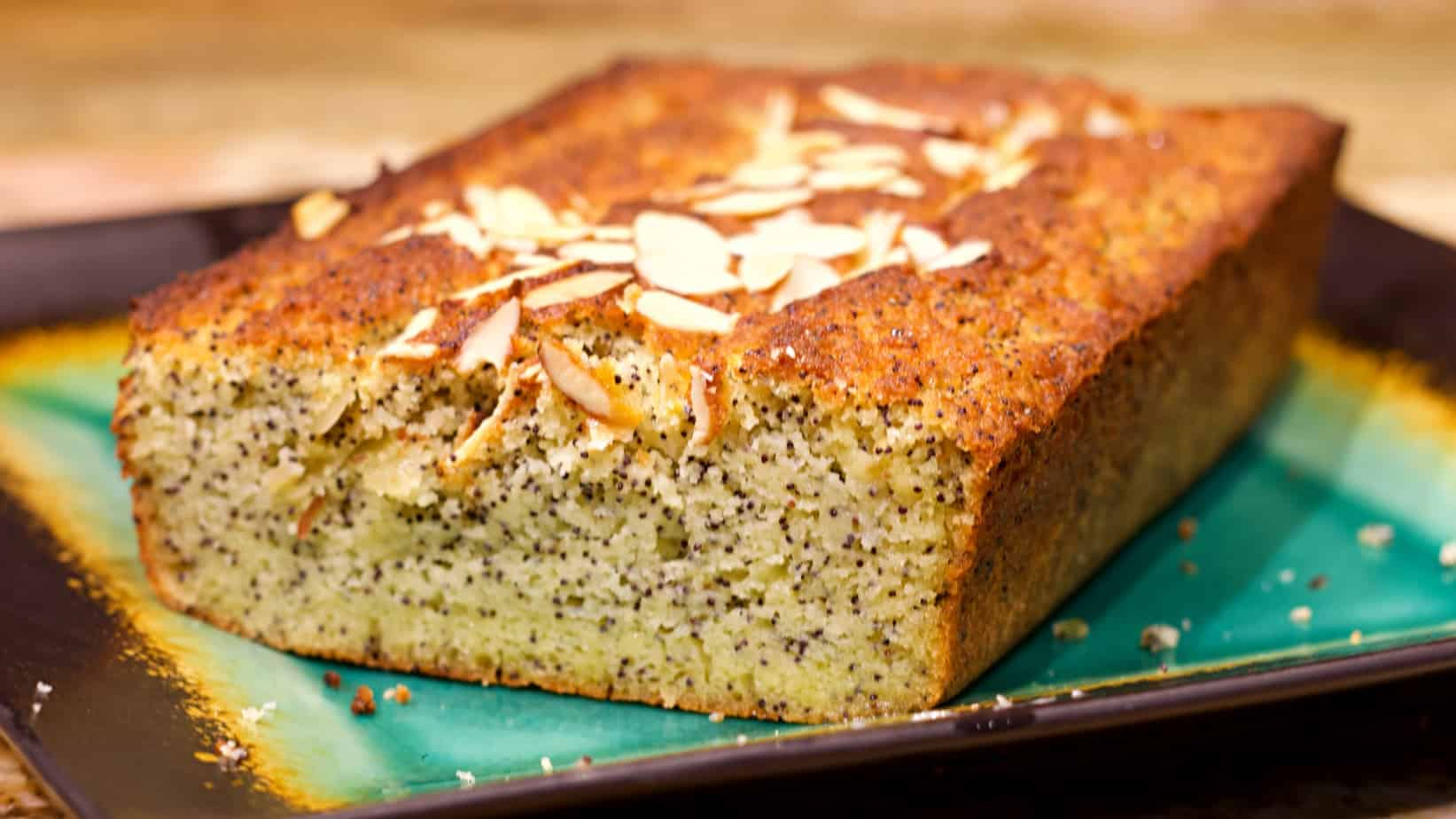 Keto Almond Poppyseed Bread Recipe