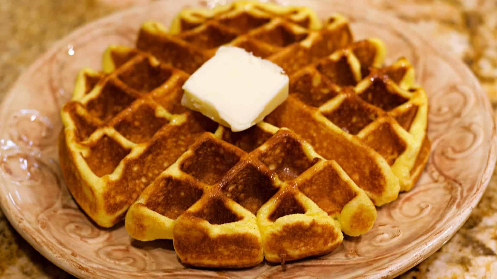 Keto Belgian Waffle Recipe