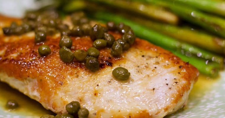 Keto Chicken Piccata Recipe