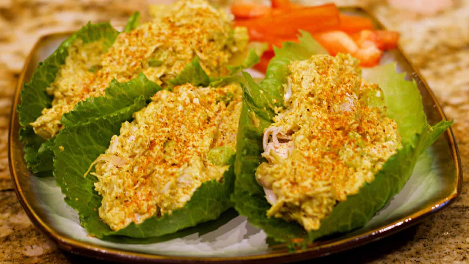Keto Curry Chicken Salad Recipe