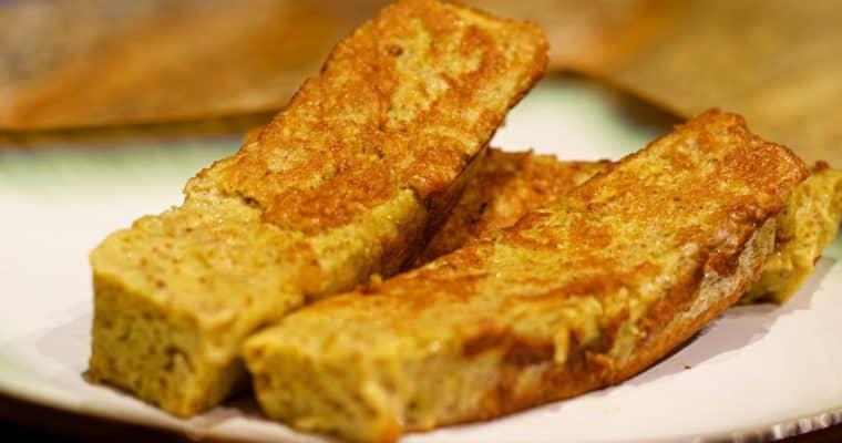 Keto French Toast Sticks Recipe