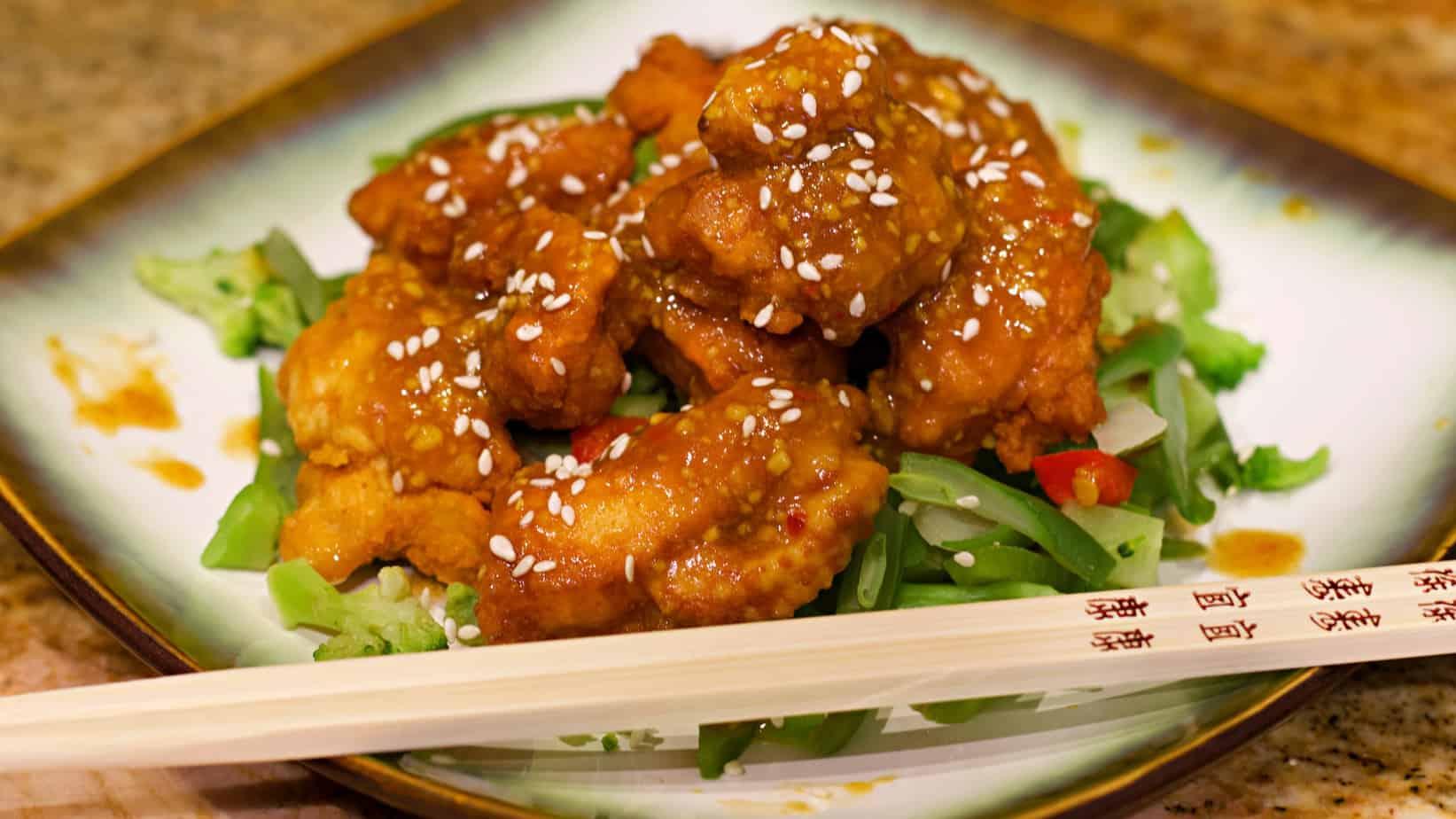 Keto Orange Chicken Recipe